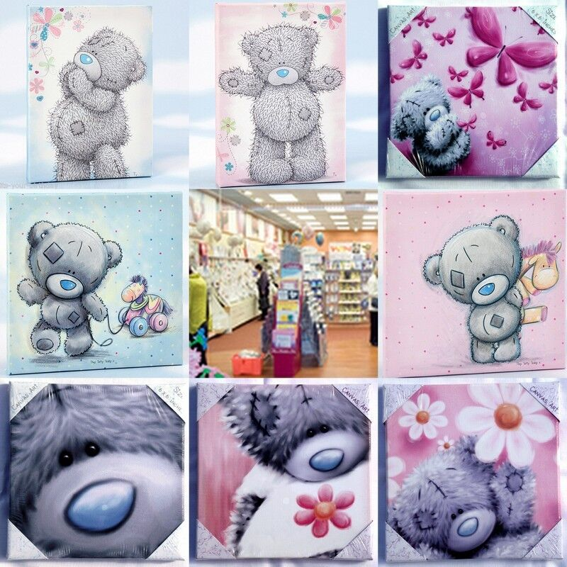 Me To You Tiny Tatty Teddy Canvas Collection Ebay