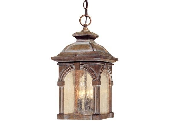 RUSTIC VINTAGE ESSEX OUTDOOR HANGING LAMP LANTERN LIGHT