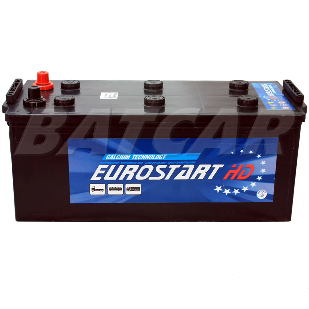 lkw batterie eurostart 12v 200ah 1200a en starterbatterie. Black Bedroom Furniture Sets. Home Design Ideas