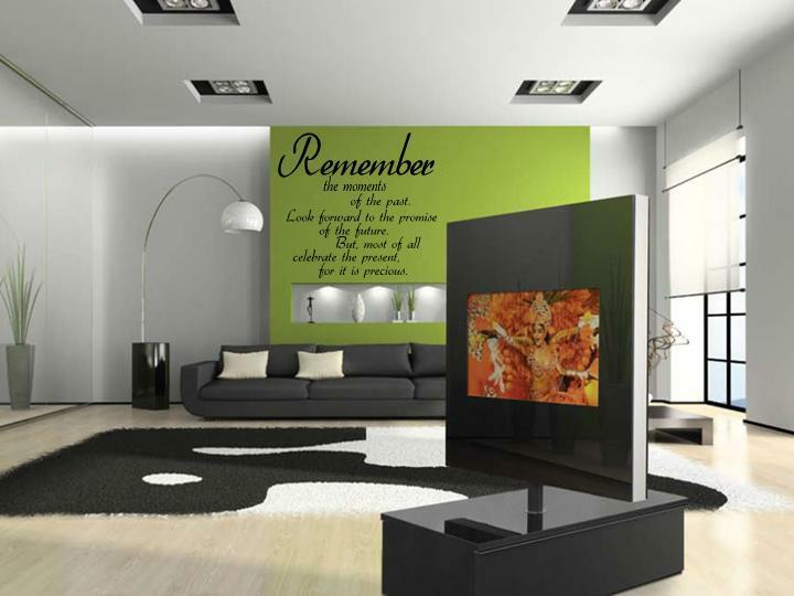 Http Www Ebay Com Itm Remember The Moments Home Vinyl Wall Decal Decor Words Lettering 36 270813828507