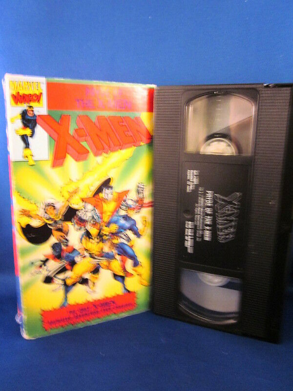 Sell Vhs Tapes >> Marvel Video Pryde of The X-Men VHS 21442100035 | eBay
