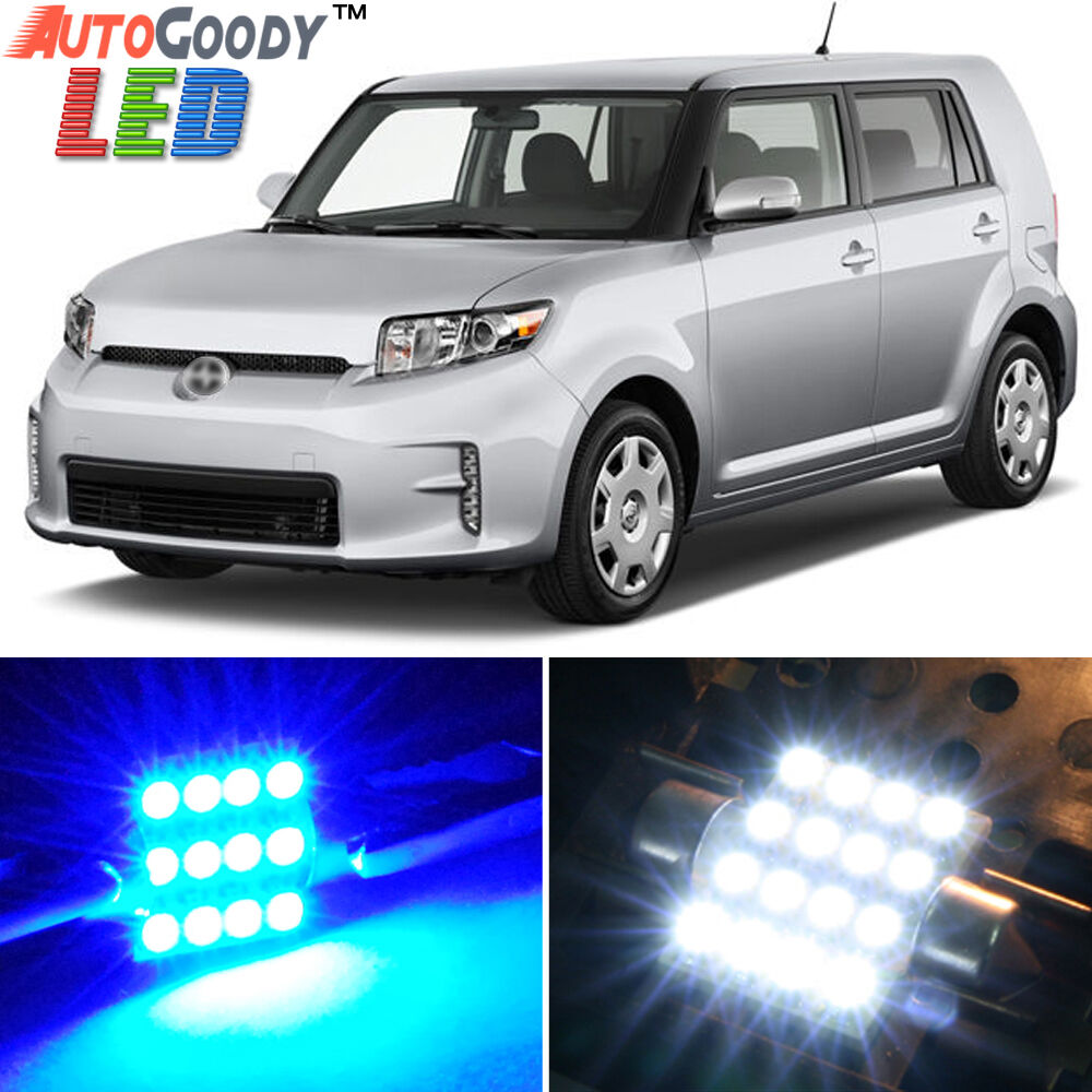 8 X Premium Blue Led Lights Interior Package Kit For Scion Xb Xd 2008 2015 Tool Ebay