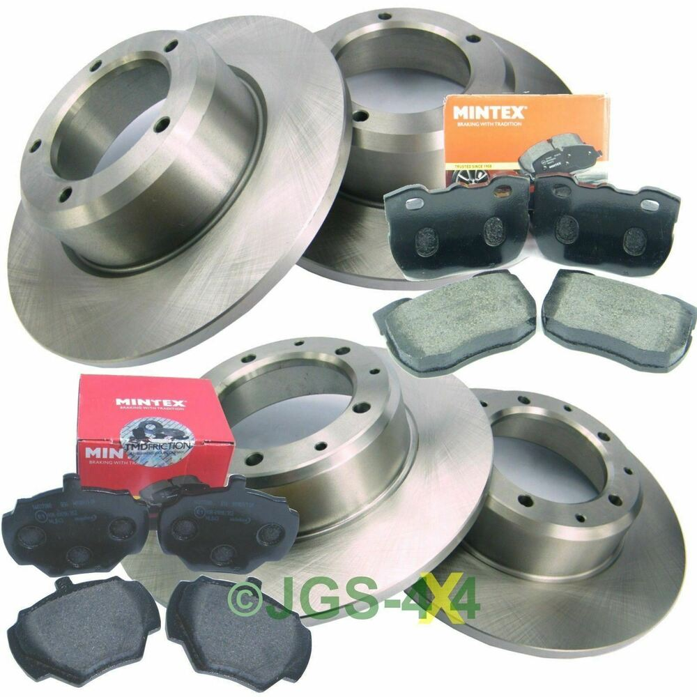 Land Rover Discovery 1 300TDi Front & Rear Brake Discs