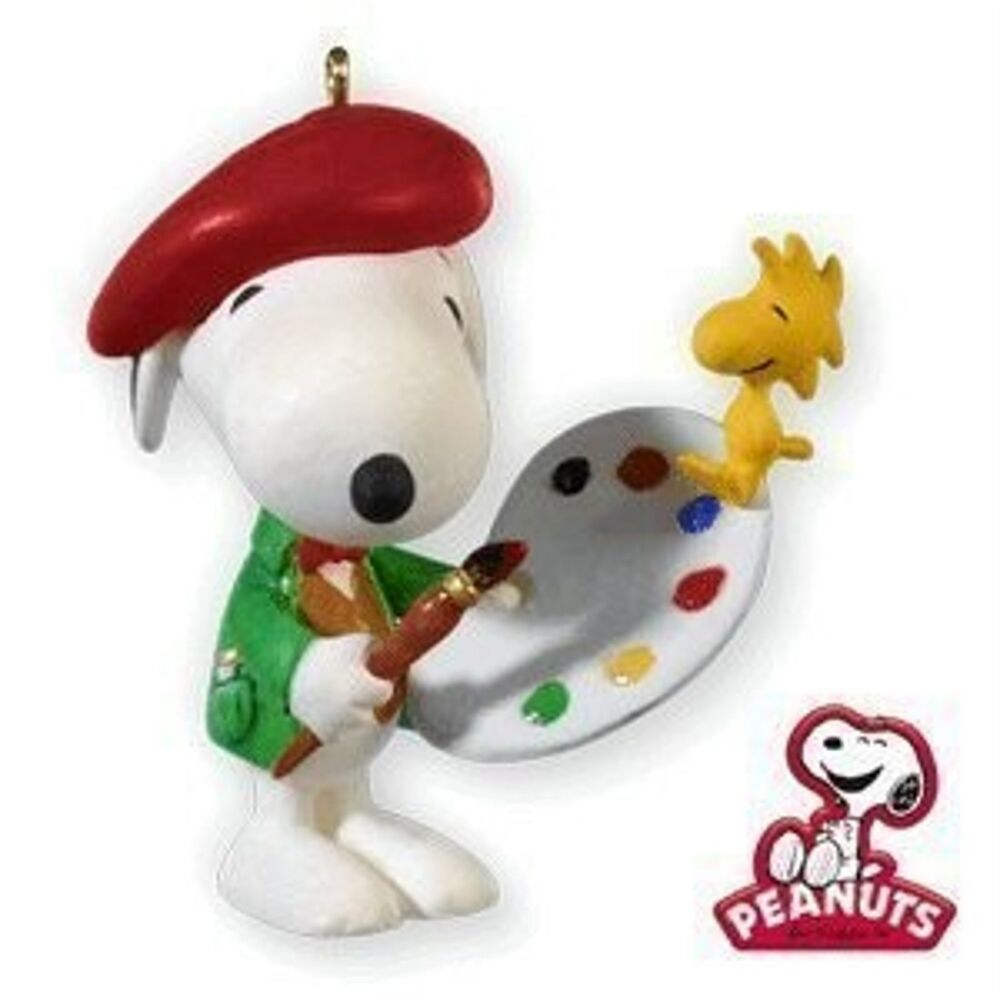 Hallmark 2010 Artist Snoopy Series Ornament | eBay