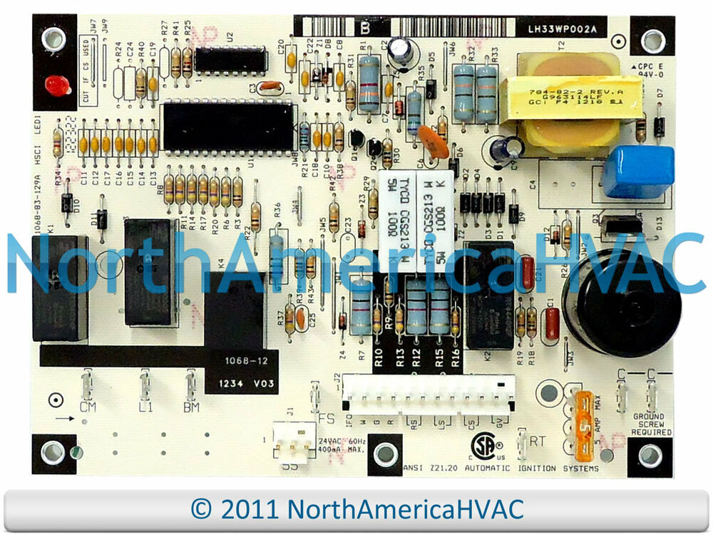 Oem Honeywell Furnace Control Board 1068