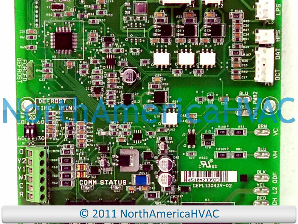 evcon wiring diagram oem carrier bryant payne defrost control board hk38ea013  oem carrier bryant payne defrost control board hk38ea013