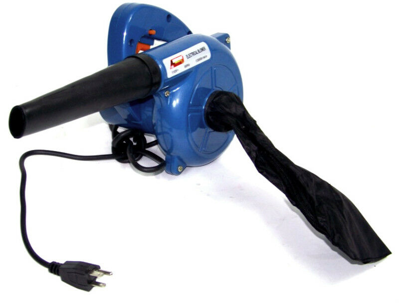 Hand Held Leaf Vacuum >> ELECTRIC HAND BLOWER AND VACUUM 13000 rpm DUST LEAF CLEANER | eBay