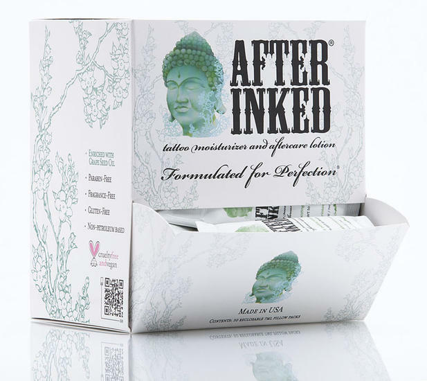 50 after inked tattoo after care healing cream lotion for Lotion for tattoo aftercare