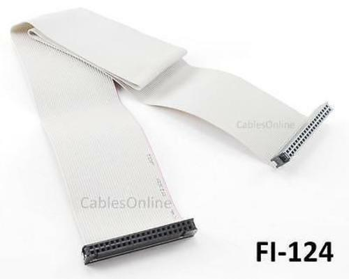Ide Ribbon Cable : Cablesonline inch pin ide single drive flat ribbon