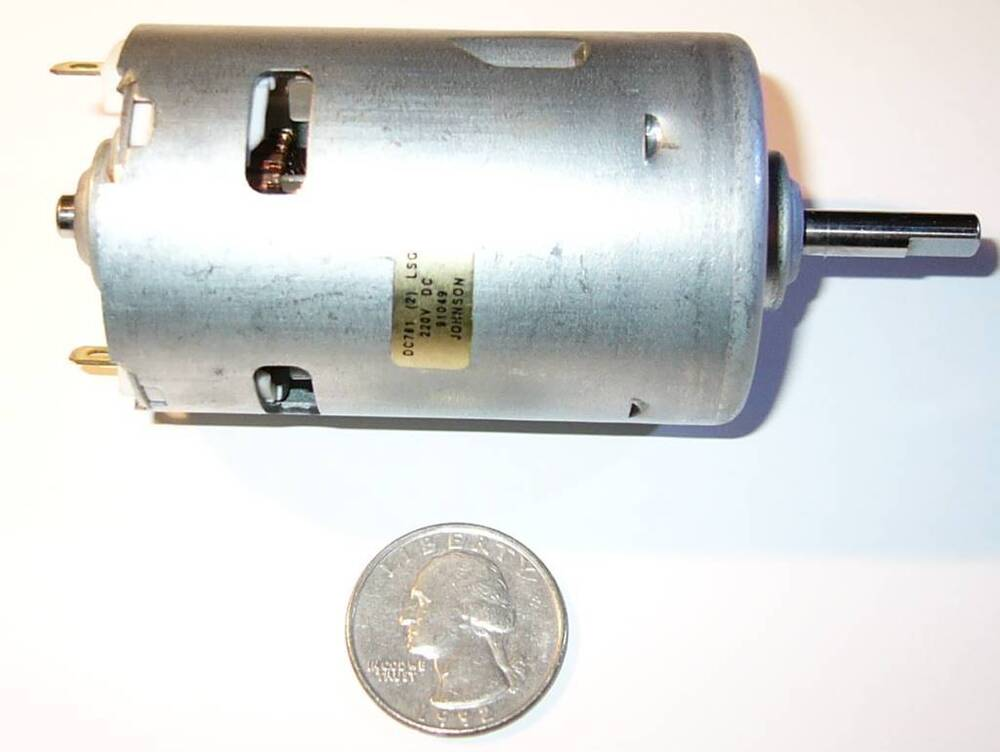Johnson 220 vdc electric motor wind hydro generator Dc motor to generator