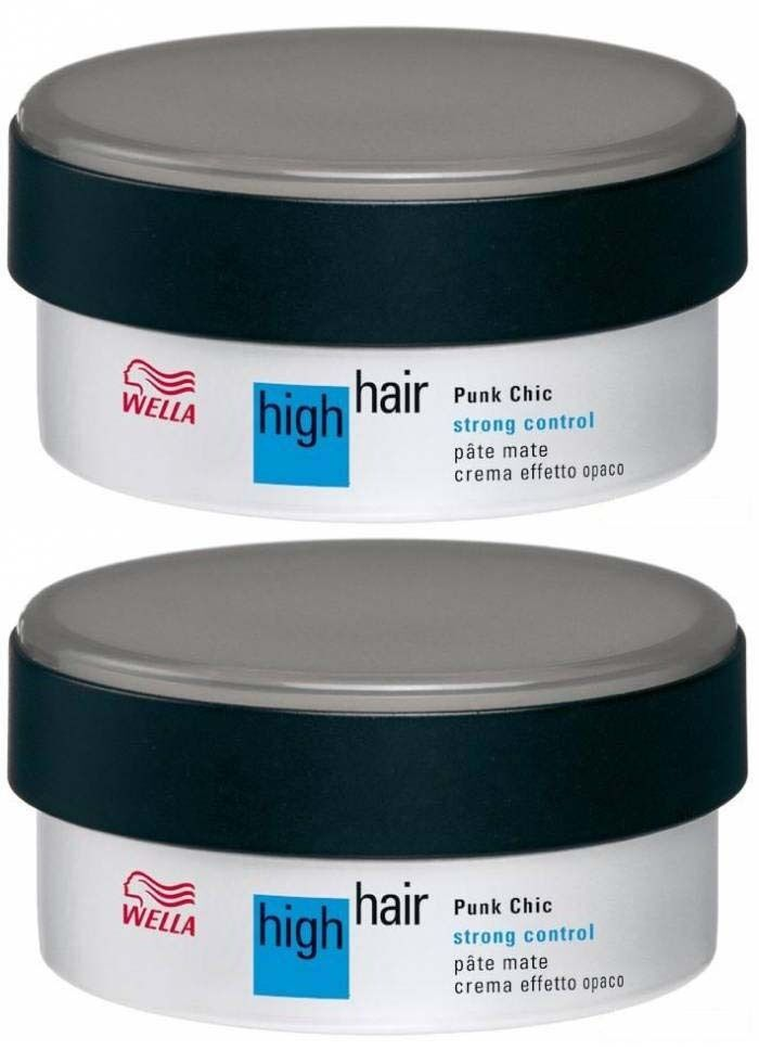 WELLA HIGH HAIR STRONG CONTROL PUNK CHIC HAIR STYLING PASTE | eBay