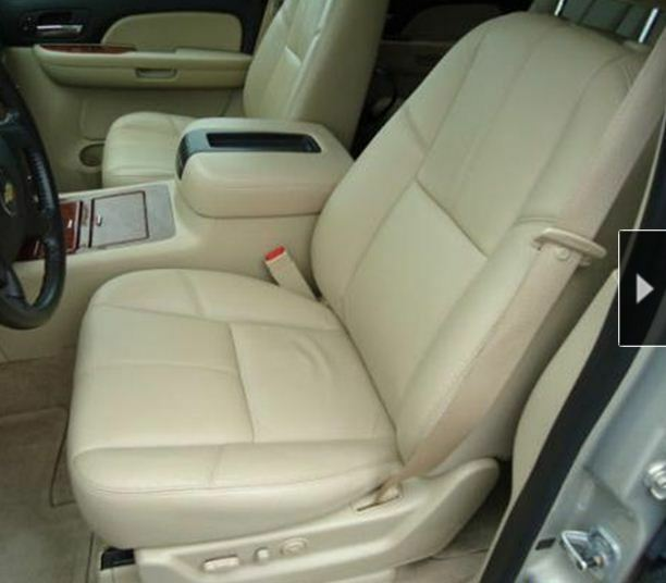2007 2009 chevrolet avalanche ls leather interior seat cover tan ebay. Black Bedroom Furniture Sets. Home Design Ideas