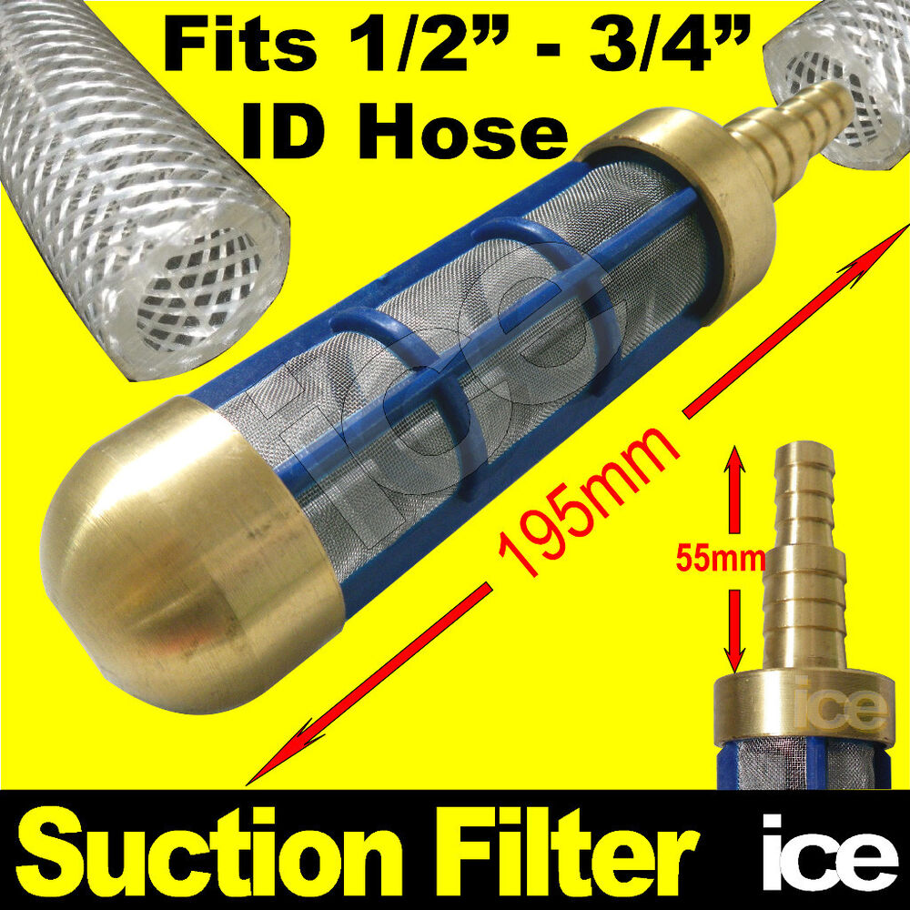 Jet Wash Water Butt Bowser Hose Pipe Brass Weighted -1834