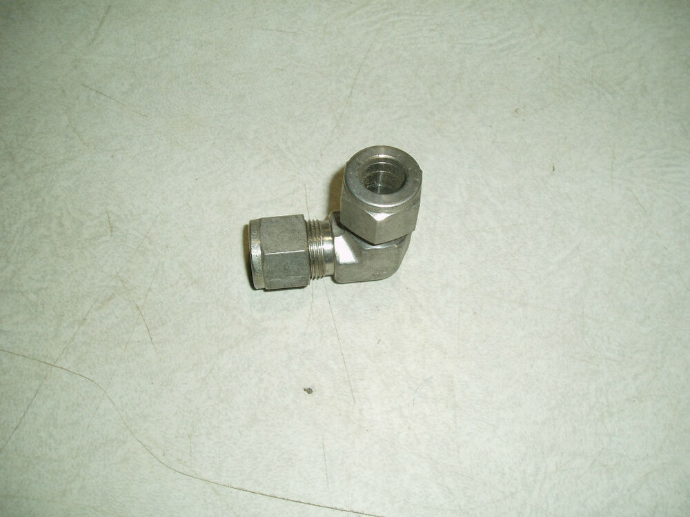 Stainless steel elbow compression fitting ebay