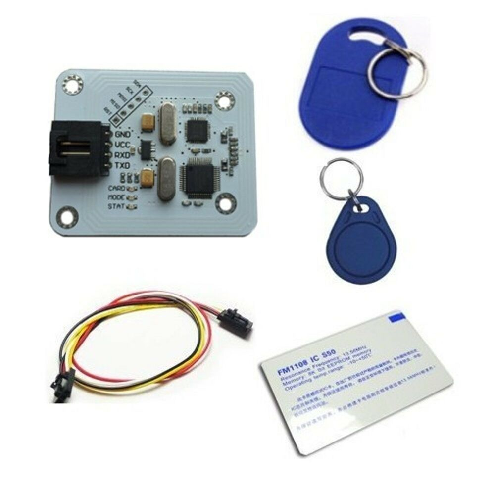 Hooking up an RFID Reader (ID-20) - Projects - Electric Imp
