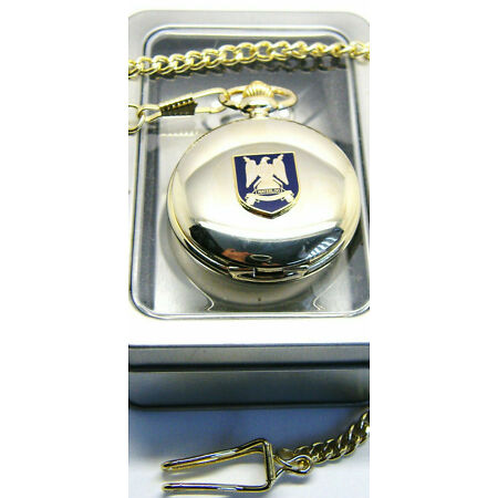 img-THE ROYAL SCOTS DRAGOON GUARDS BADGE CREST ARMY MILITARY POCKET WATCH CHAIN GIFT