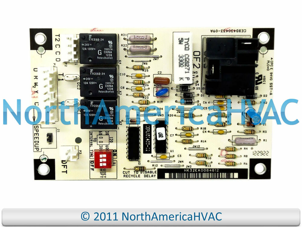 carrier bryant payne defrost control circuit board ceso130076 00 ebay rh ebay com 8145-20 Defrost Timer Wiring Diagram Electric Furnace Wiring Diagrams