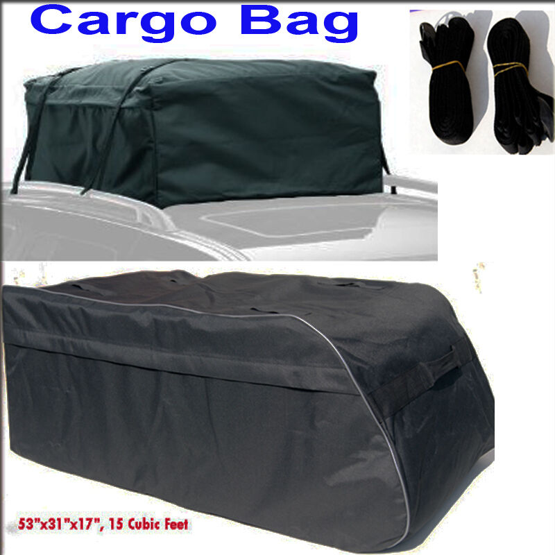 Roof Top Cargo Carrier Bag For Toyota Sienna Sequoia