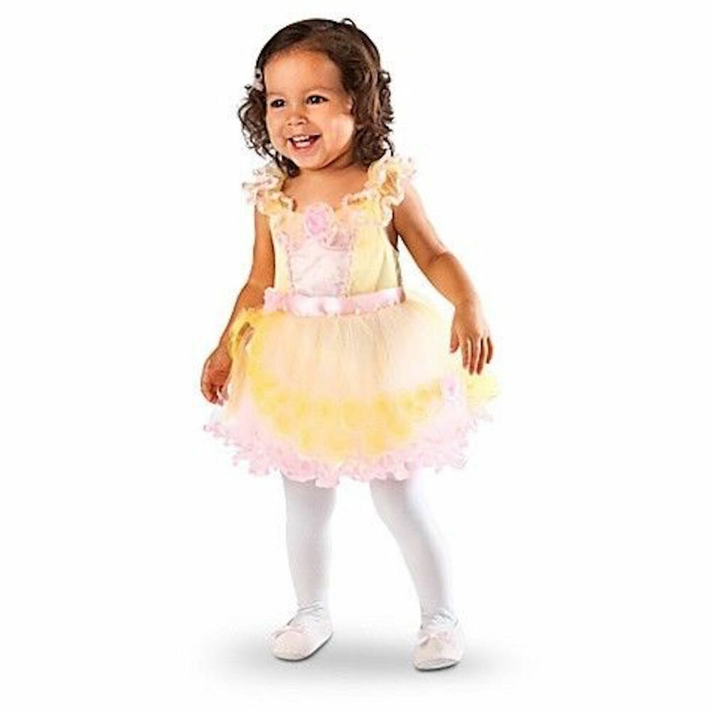Cinderella Princess Toddler Girls Costume On Storenvy: Disney Store Princess Belle Beauty Girl Dress Costume