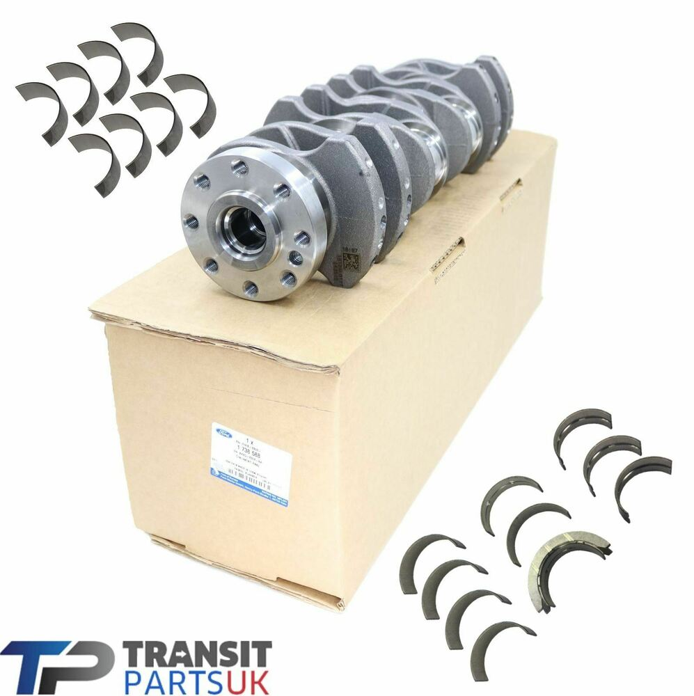 BRAND NEW FORD TRANSIT CRANKSHAFT 2.4 MK6 2000-2006