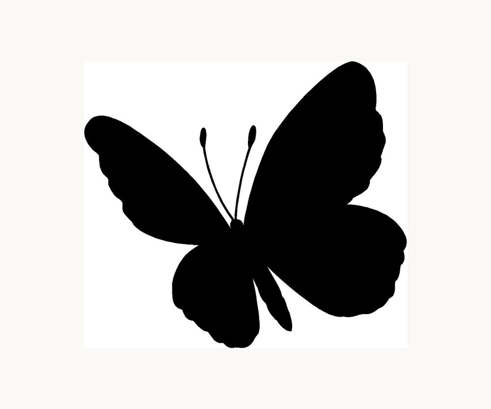 Butterfly Sticker Car Window Vinyl Decal Laptop Lucky
