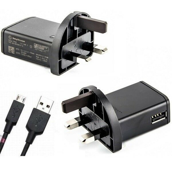 GENUINE SONY ERICSSON EP800 MAINS AC CHARGER XPERIA X10