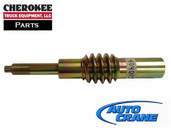Auto crane 404015000 worm shaft for 3203prx 4004eh for Motors used in cranes