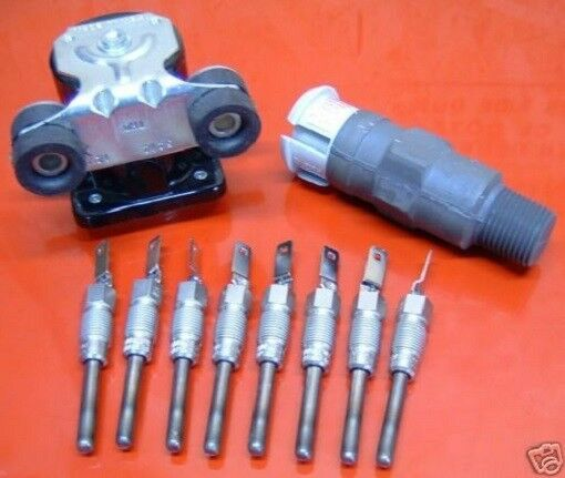 Glow Plug, Controller, And Relay Super Kit 6.2L GM Diesel