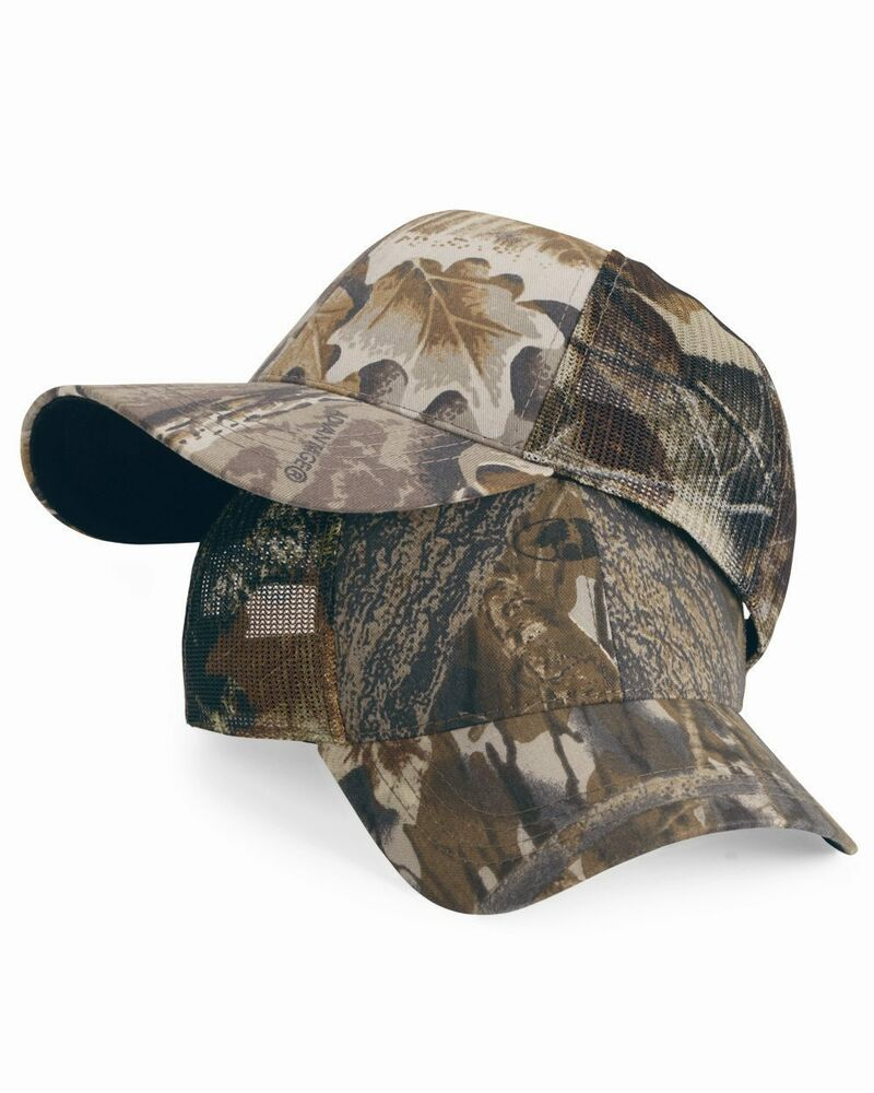 outdoor cap new mens womens adjustable size cool mesh camo