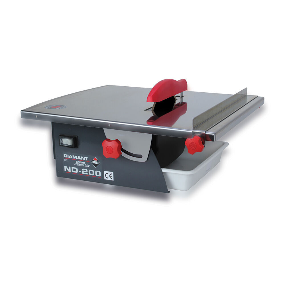 Rubi diamant nd 200 electric tile cutter wet saw 110v 45916 ebay dailygadgetfo Gallery