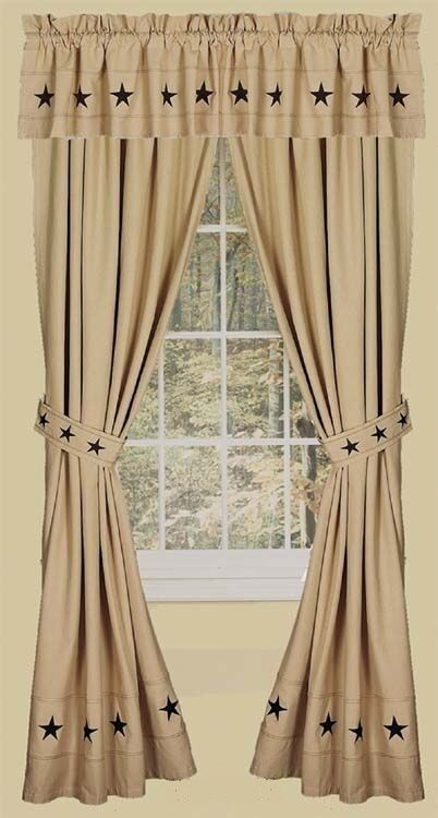 Cheap primitive curtains 2