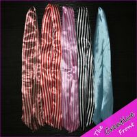 WIRE HEAD BAND SCARF - STRIPES -  MORE COLOURS AVAILABLE - HAIR ACCESSORIES