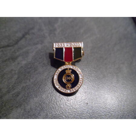 img-Royal Scots brooch pin badge, based on the RS350 medal, High quality, made in UK