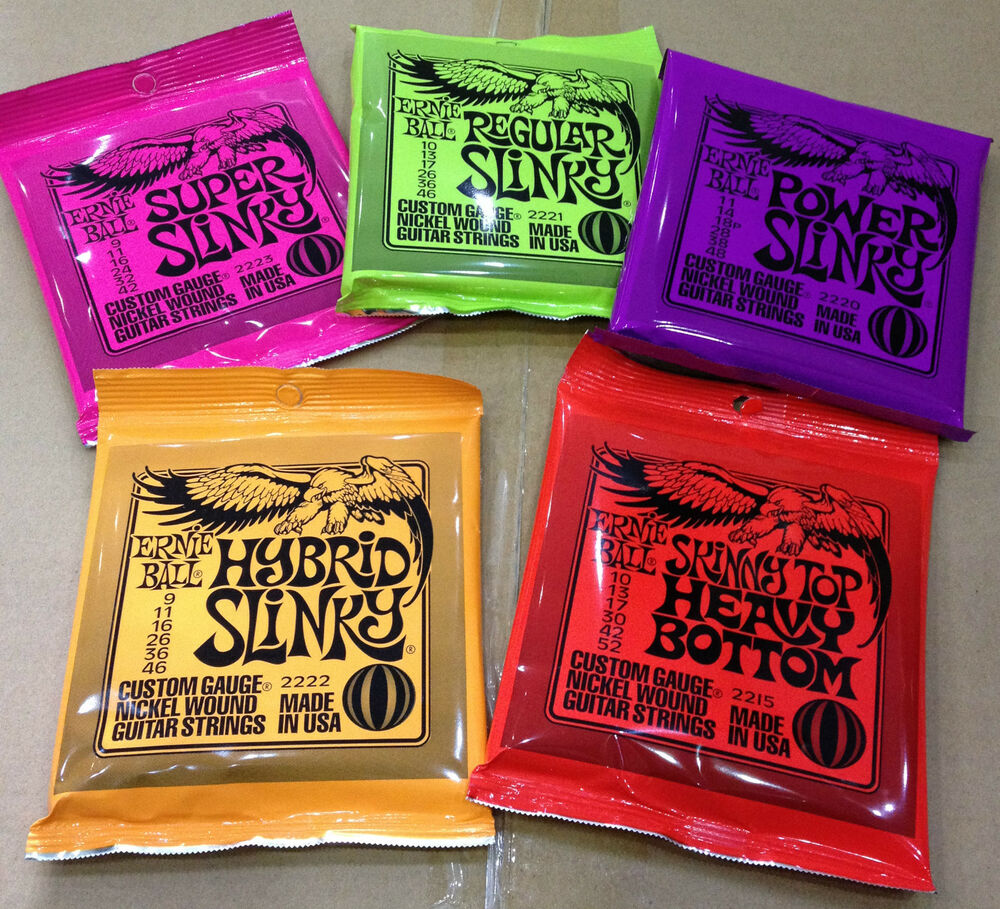 Ernie Ball Strings : ernie ball super regular power hybrid skinny top slinky electric guitar strings ebay ~ Hamham.info Haus und Dekorationen