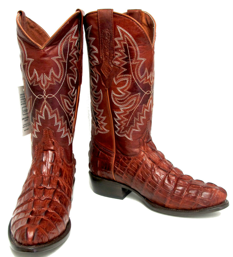 Handmade Exotic Crocodile Boots. The Caiman Crocodile used in our western boots for the most part come from Central or South America. The Caiman Crocodile are farm grown and harvested for their skins. Although Crocodile are found all over the world ones like the Nile Crocodile and many others are very controlled and hard to get, thus the .