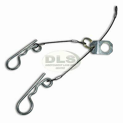 land rover towing pin retainer wire and clip ebay. Black Bedroom Furniture Sets. Home Design Ideas