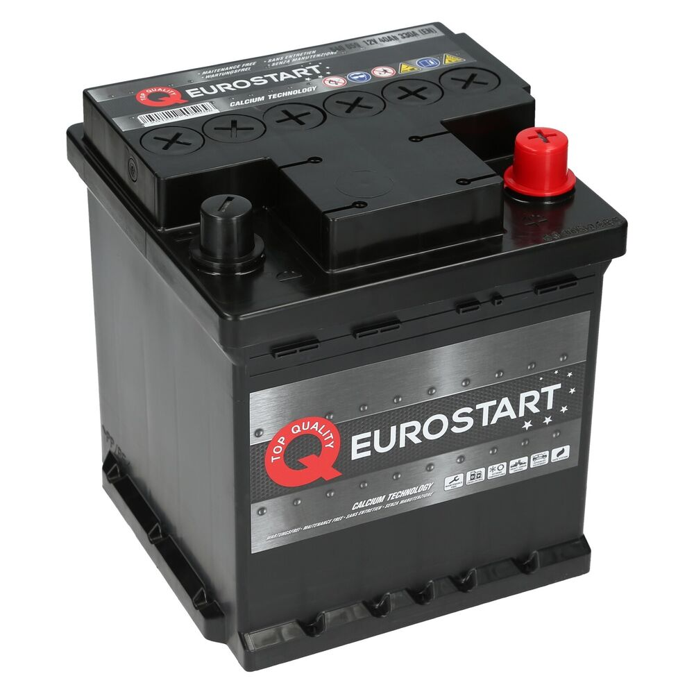 eurostart 12v 40ah 340a en fiat autobatterie. Black Bedroom Furniture Sets. Home Design Ideas