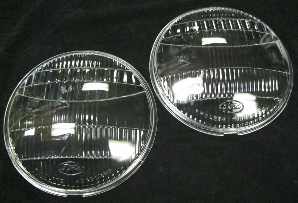 how to clean glass headlight lenses