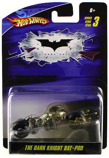 Hot Wheels Batman The Dark Knight Bat Pod Diecast 1 50