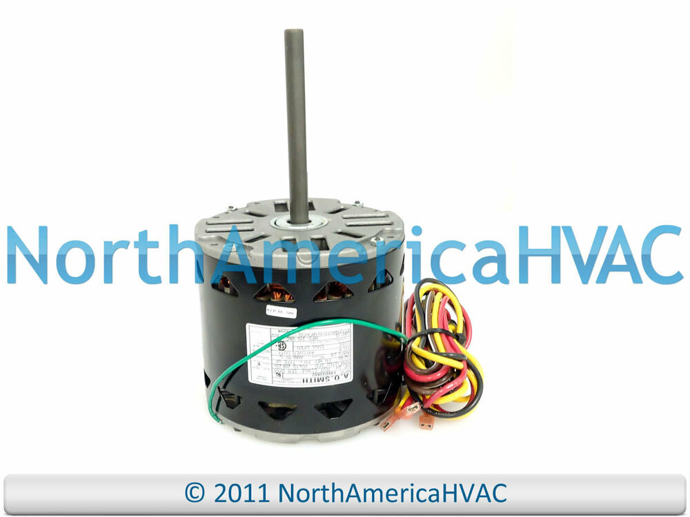 Oem carrier bryant a o smith 3 4 hp furnace blower motor for Ao smith furnace blower motor
