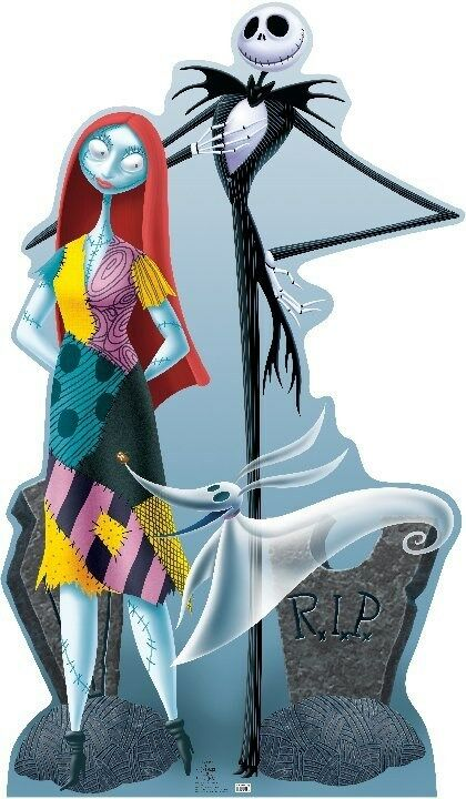 jack skellington sally the nightmare before christmas