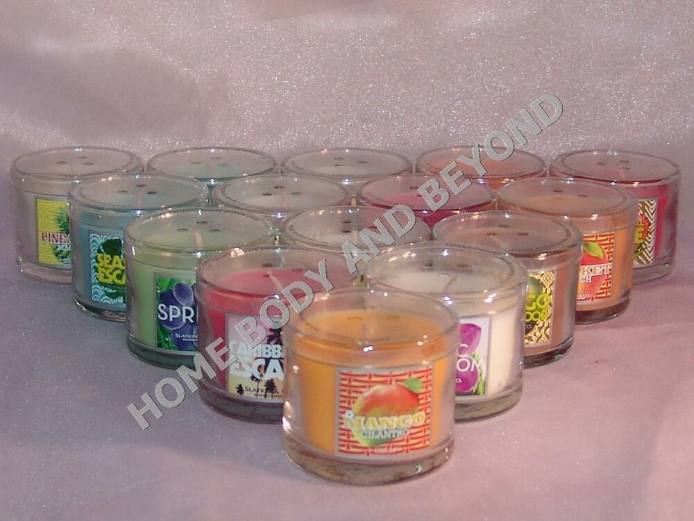 Bath And Body Works 1 3 Oz Mini Scented Candle You