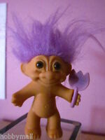 Russ Troll Doll Easter with Purple Hair