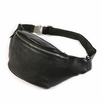 Mens Top Leather Travel Fanny Waist Bags Backpacks Messenger TIDING NEW