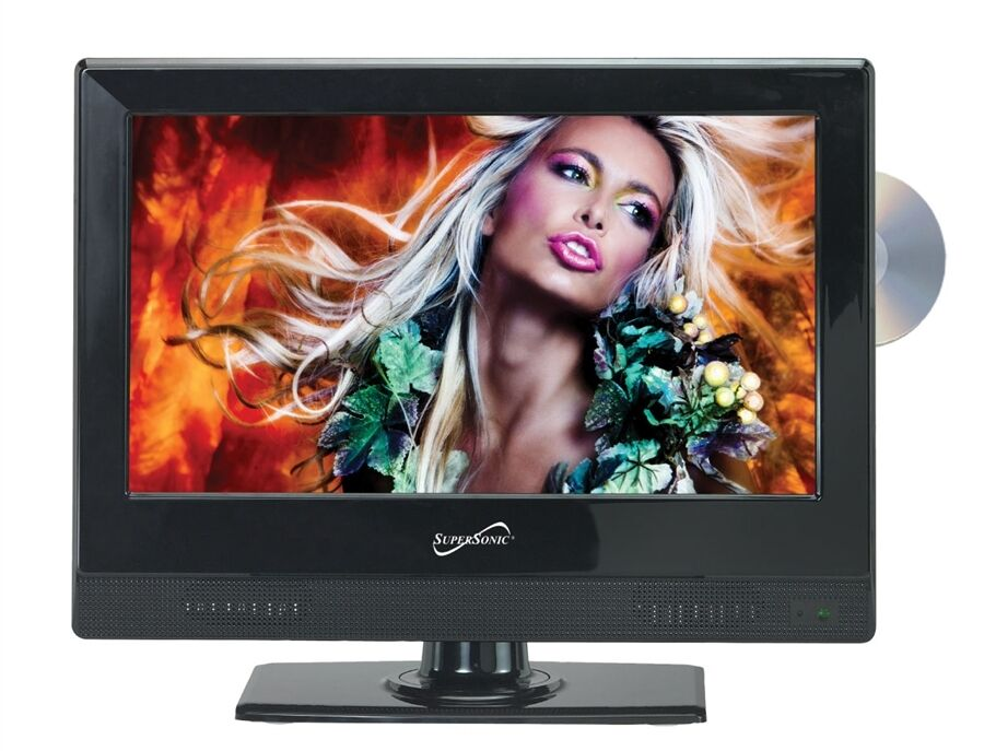 supersonic 24 12 volt led tv dvd combo 639131024120 ebay. Black Bedroom Furniture Sets. Home Design Ideas