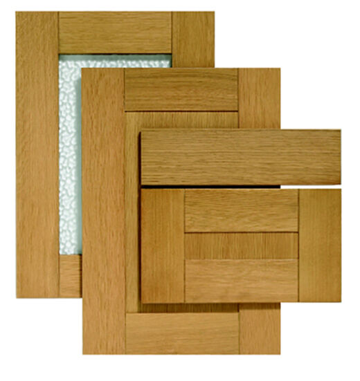 Replacement Oak Kitchen Cabinet Doors: Solid Oak Shaker Doors