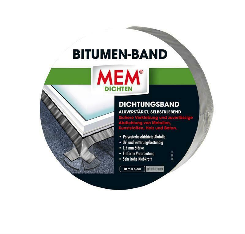 mem bitumen band blei 75mm x 10m bitumenband. Black Bedroom Furniture Sets. Home Design Ideas