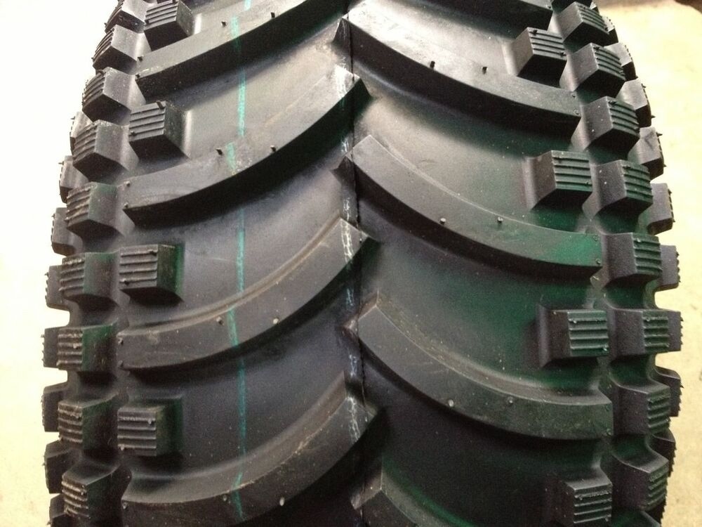 Four Wheeler Tyres : Two atv four ply tubeless