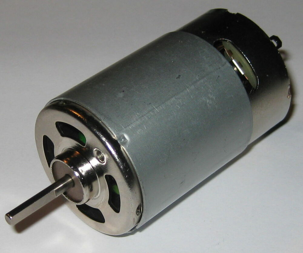 12V DC Motor For Traxxas R C And Power Wheels Powerful Fan Cooled on high power 12v dc motor