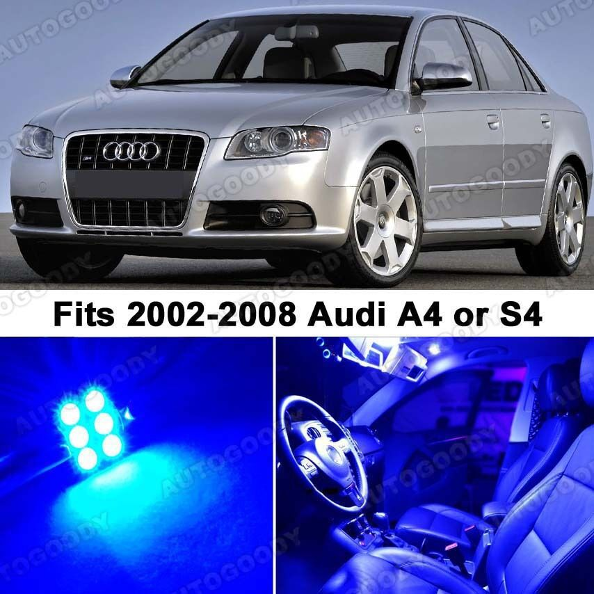 Audi A4 2002 Price: 19 X Premium Blue LED Lights Interior Package Upgrade For